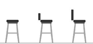 10 tipů jak vybrat barovou židli