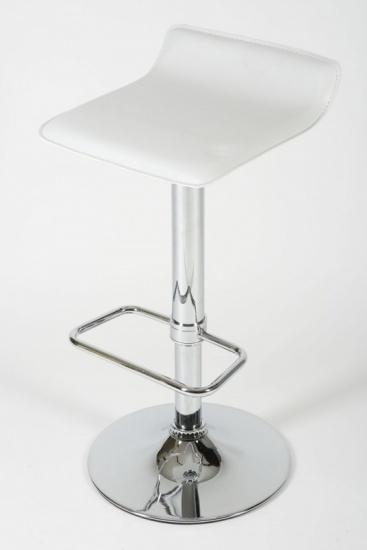 Barové židle Marlon - SET 2 ks, bílá