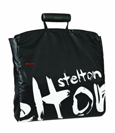 Nákupní taška Shopper, černá / graffiti
