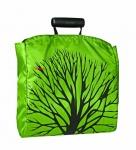 Nákupní taška Shopper, olivová / strom