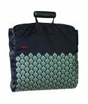 Nákupní taška Shopper, tm. modrá / vzor