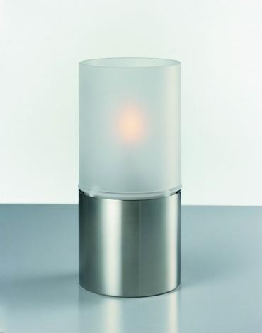 Olejová lampa Classic, mléčné sklo Stelton