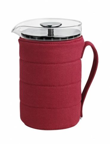 Press coffee Under cover, Maasai červená