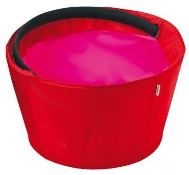 Shopnic nákupní / piknikový košík, červená