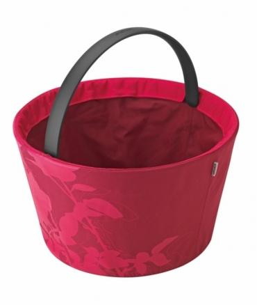 Shopnic nákupní / piknikový košík, růžová