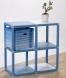 Úložná krabice s víkem Kaspík, modrá