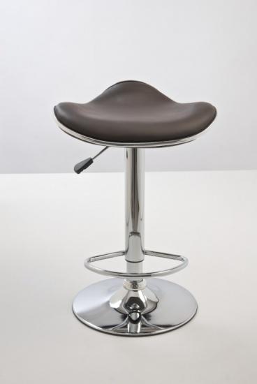 Barové židle Lega bez opěráku - SET 2 ks, hnědá