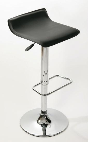 Barové židle Marlon - SET 2 ks, černá