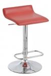Barové židle Marlon - SET 2 ks, červená