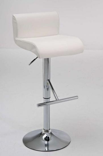 Barová židle Helios - SET 2 ks, bílá