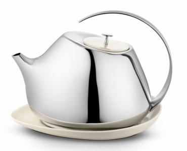 Čajová konvice s podnosem Helena
