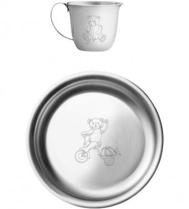Dětský talíř a šálek Julius