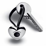Přívěšek na klíče Srdce