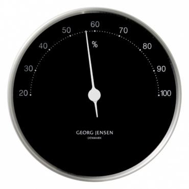 Vlhkoměr Koppel, 10 cm, nerez/černá