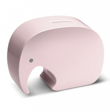 Kasička Moneyphant, růžová
