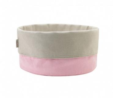 Taška na pečivo Classic, růžová / písková, jarní kolekce ´11