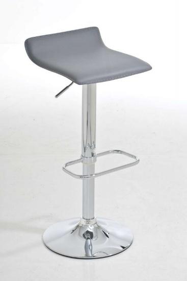 Barové židle Marlon - SET 2 ks, šedá