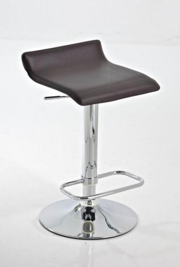 Barové židle Marlon - SET 2 ks, hnědá