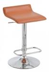 Barové židle Marlon - SET 2 ks, oranžová