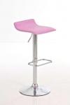 Barové židle Marlon - SET 2 ks, růžová