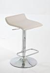 Barové židle Marlon - SET 2 ks, krémová