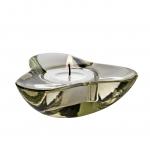 Svícen pro čajovou svíčku Aura, olivový