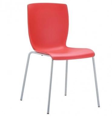 Jídelní konferenční židle Mirabel, červená