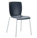 Jídelní / konferenční židle Mirabel, černá