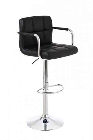 Barová židle Evita V2, černá