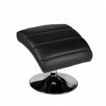 Podnožka pro relaxační křeslo, černá