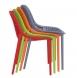Designová jídelní židle stohovatelná Soufi