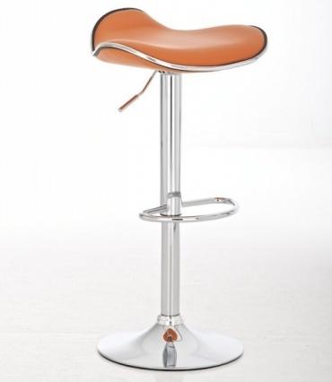Barové židle Lega bez opěráku - SET 2 ks, oranžová