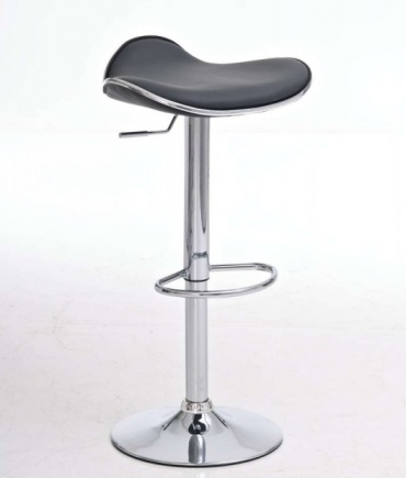 Barové židle Lega bez opěráku - SET 2 ks, šedá
