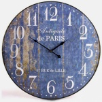 Nástěnné hodiny Mondo, 60 cm, modré