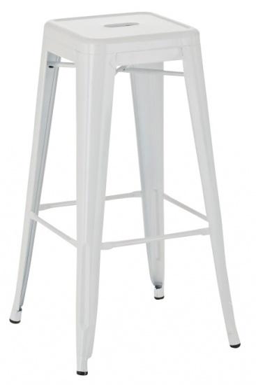 Barová židle Factory, bílá