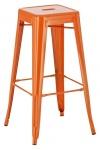 Barová židle Factory, oranžová