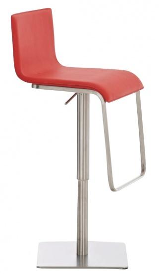 Barová židle Axel, červená