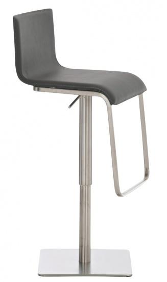 Barová židle Axel, šedá