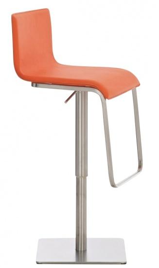 Barová židle Axel, oranžová