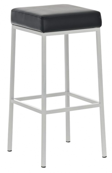 Barová stolička Joel, výška 85 cm, bílá-černá