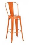 Barová židle Factory, výška 77cm, oranžová