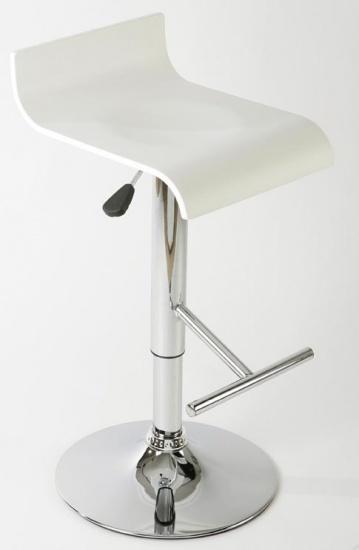 Barová židle Shape, bílá