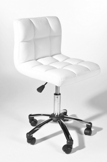 Pracovní / kosmetická židle Molly, bílá