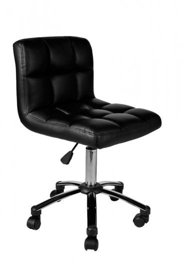 Pracovní / kosmetická židle Molly, černá