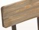 Jídelní židle s bronzovou podnoží Miah, bronzová