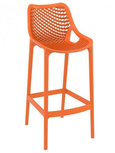 Barová židle Soufi outdoor, oranžová