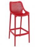 Barová židle Soufi outdoor, červená