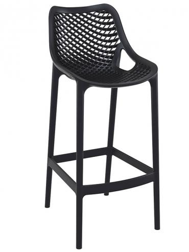 Barová židle Soufi outdoor, černá