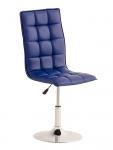 Jídelní / pracovní otočná židle Gauja, modrá