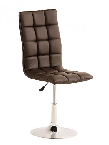 Jídelní / pracovní otočná židle Gauja, hnědá